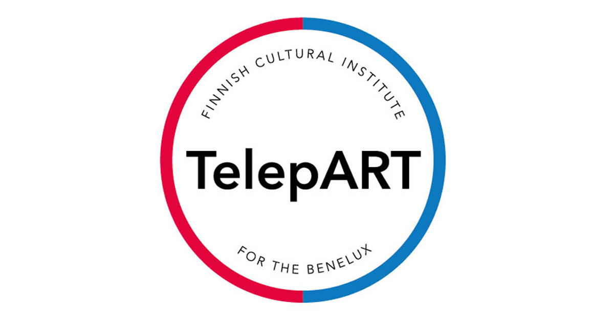 TelepART logo, round which reads TelepART in the middle.
